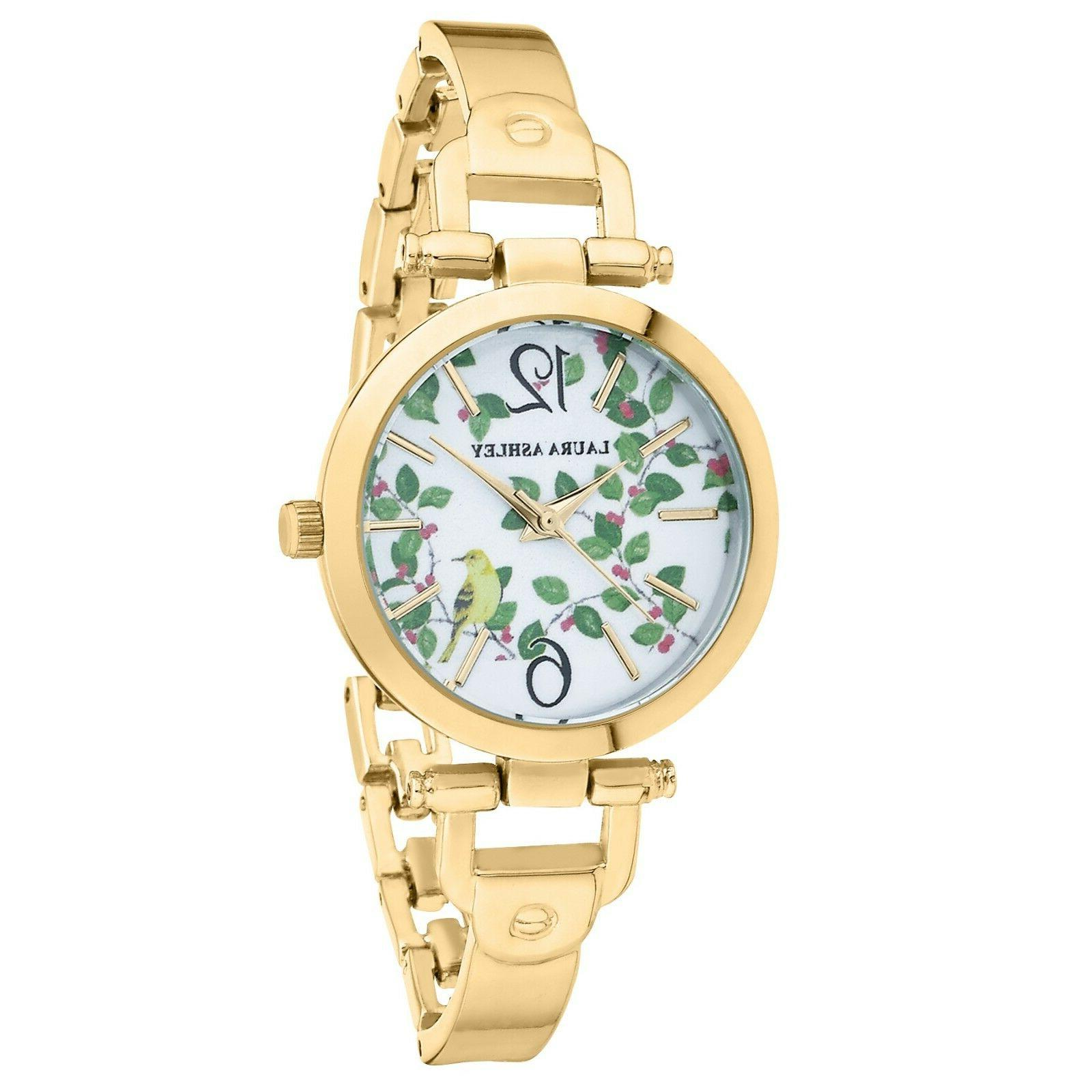 Laura Ashley Band Women's Watch Comes Gift