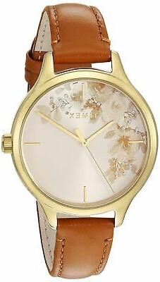Timex TW2R66900, Women's Watch, Crystal Bloom Brown Leather
