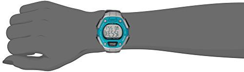 Timex TW5K89300 Classic 30 Mid-Size Black/Silver-Tone/Blue Resin Strap Watch