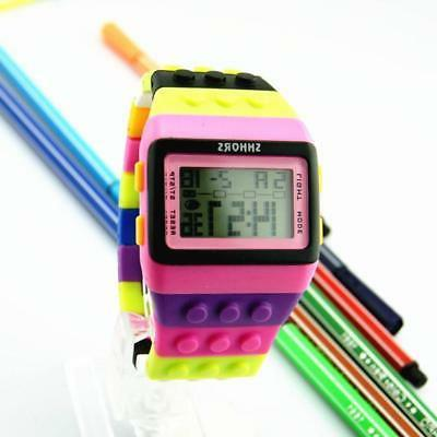 Unisex Women Men Kids Sports Digital Watches Gifts Colorful