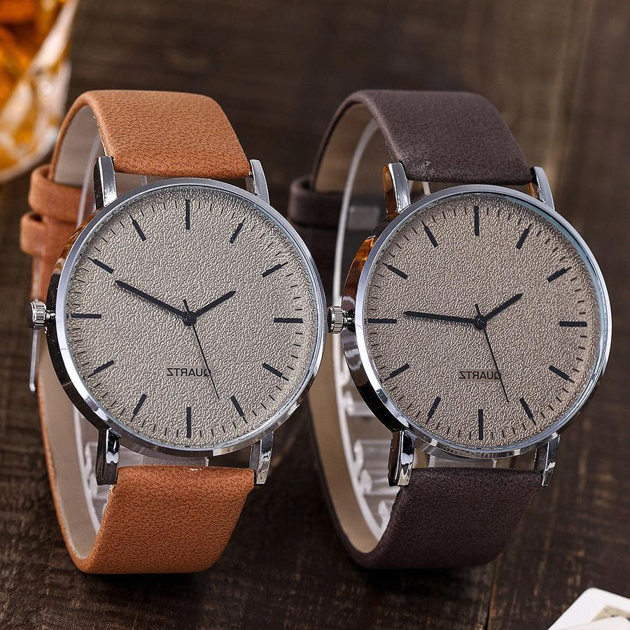 Unisex Casual Women's Watches Leather Quartz