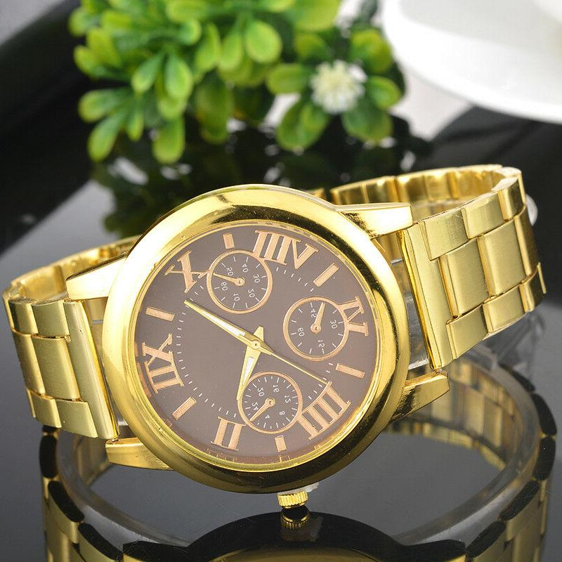 US Women Numbers Gold Plated Wrist