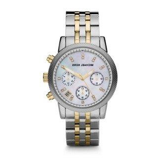 watches two tone chronograph