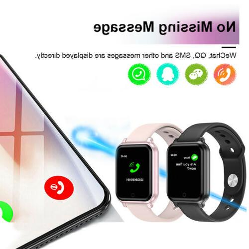 Waterproof Smart Women Men Sport Fitness Bracelet For