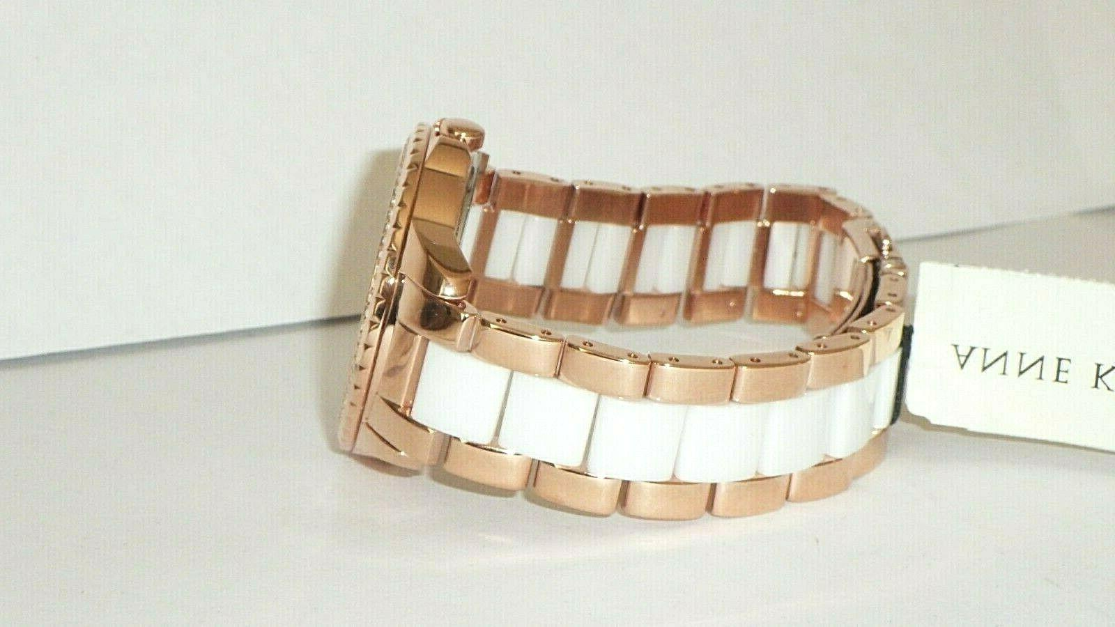 Anne Crystal Accented Rose Tone w/ Dial