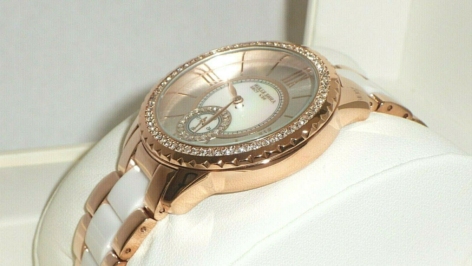 Anne Crystal Accented Tone w/ MOP Dial