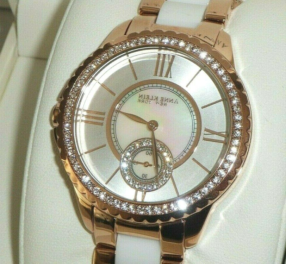 women s 12 2310rbwt crystal accented rose