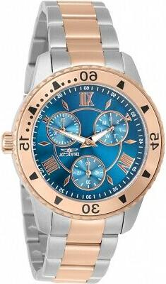 Invicta Women's 30736 Angel Quartz 3 Hand Blue Dial Watch