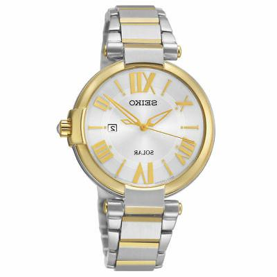 Seiko Women's Analog Display Japanese Quartz Two Tone Watch