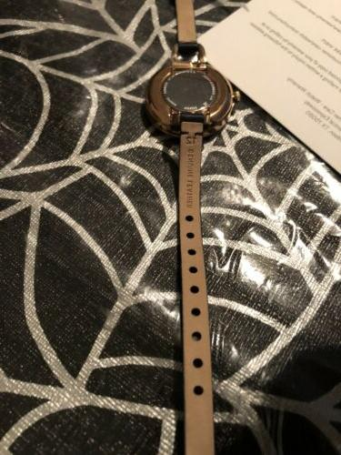 Fossil Annette ES4403 Rose-Gold Leather Japanese Fashion Watch