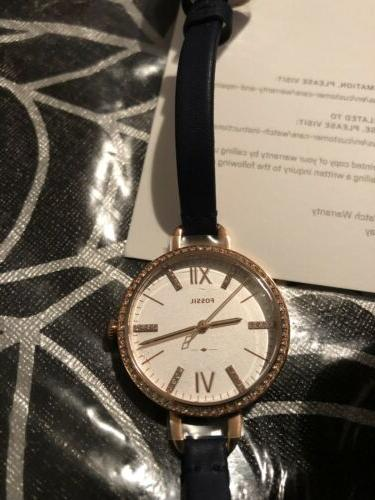 Fossil Women's Annette Rose-Gold Japanese Fashion