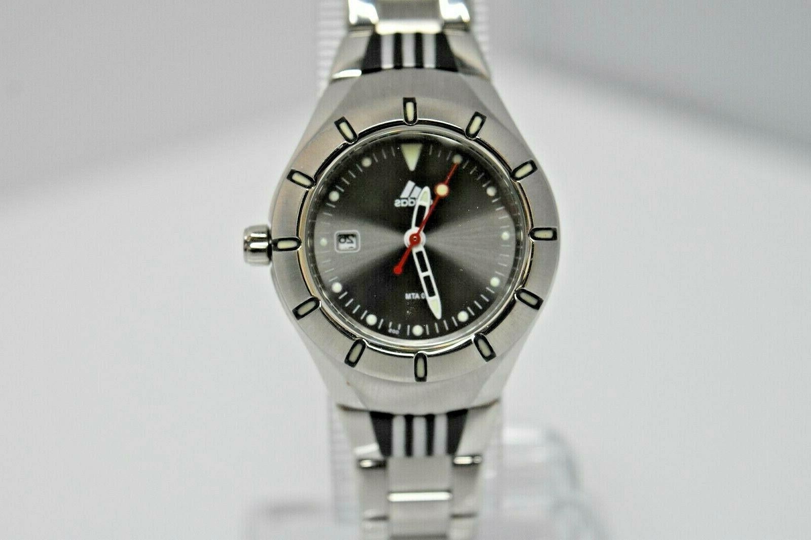 women s small stainless steel gray dial