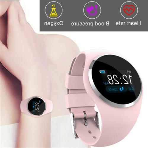 Women Waterproof Bluetooth Smart Watch Phone Mate For Androi