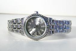 ROUSSEAU LADIES AVERY BRACELET WATCH WITH A CHARCOAL GREY CR
