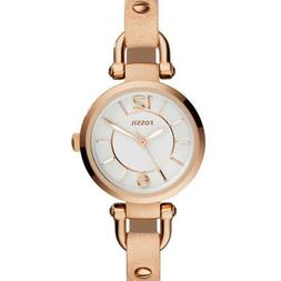 Fossil Ladies' Georgia Gold-Tone Stainless Steel Watch with
