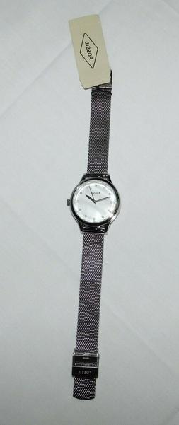 Fossil Laney 34mm Three-Hand Mother Of Pearl Dial Women's Wa