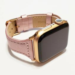 Leather Band for Apple Watch Series 5, 4, 3, 2, and 1 for 38