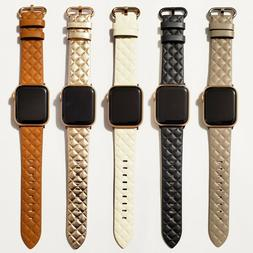 Leather Modern Style Design Band for Apple Watch Series 6, 5