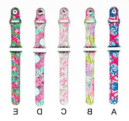 LILLY PULITZER INSPIRED APPLE WATCH BAND NEW 2019 LADIES 38m