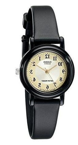 Casio Women's LQ139A-9B3 Black Casual Classic Analog Watch
