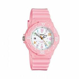 Casio Women's LRW-200H-4B2VCF Pink Stainless Steel Watch wit