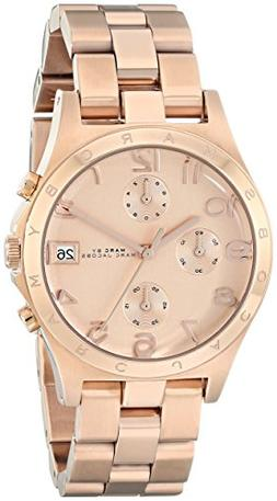 Marc by Marc Jacobs Women's MBM3074 Henry Classic Rose Gold-