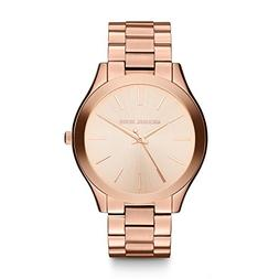 Michael Kors Women's Runway Rose Gold-Tone Watch MK3197