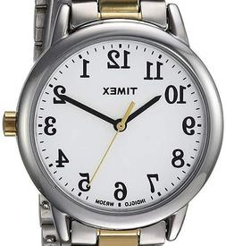 NEW $62 Timex Women's Easy Reader Extra Large Wrist Bracelet