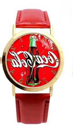 NEW Coca Cola Coke Watch Red Band Men's or Women's FREE SHIP