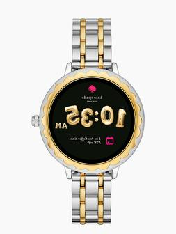 NEW Kate Spade Smartwatch Two Tone KST2007 Touchscreen Scall