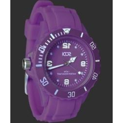 New Purple Unisex Mens Womens Silicone Rubber Sports Watches