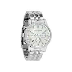 new ritz silver chronograph women s stainless