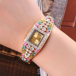 New Wrist Watch for Girls kids Children Woman Fashion Crysta