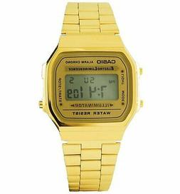 Official Classic Gold Illuminator Watch A168WG-9EF from Casi