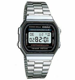 Official Classic Silver Illuminator Watch A168WA-1YES from C