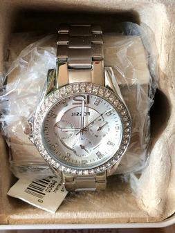 d23b40c03913 Editorial Pick Fossil Original ES3202 Women s Riley Silver Stainless Steel