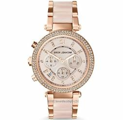 Michael Kors Original MK5896 Women Parker Rose Gold Blush Cr