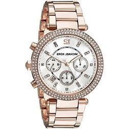 Michael Kors Women's Parker Rose Gold-Tone Bracelet Watch MK