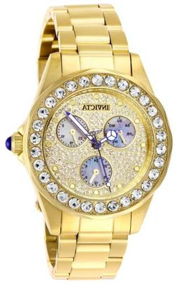 Invicta Bolt Sport Women's 40mm Gold Stainless Chronograph W