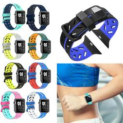 Silicone Replacement Strap Watch Band for Apple Watch Series
