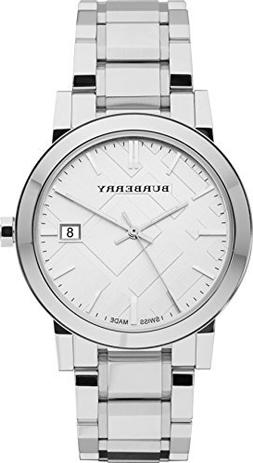 Burberry Silver Dial Stainless Steel Quartz Men's Watch BU90