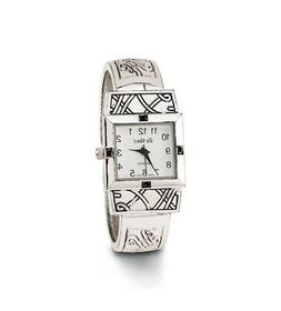 Silver Tone Expandable Women's New Quartz Bangle Watch-d30
