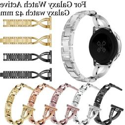 Stainless Steel Watch Band Strap For Samsung Galaxy Watch 42