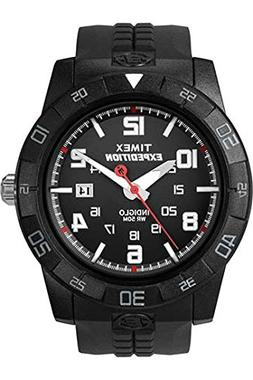 Timex Men's T49831 Expedition Rugged Analog Black Resin Stra