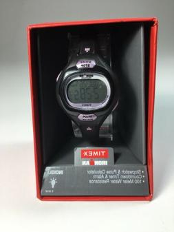 Timex Women's T5K187 Ironman Essential Pulse Black/Purple Re
