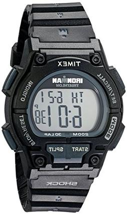 Timex Men's T5K196 Ironman Original 30 Shock Full-Size Black