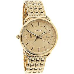 Fossil Tailor Multifunction Rose-Tone Stainless Steel Watch