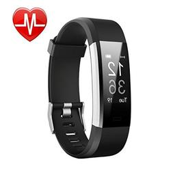 Letufit Plus Fitness Tracker + Heart Rate Monitor,IP67 Water