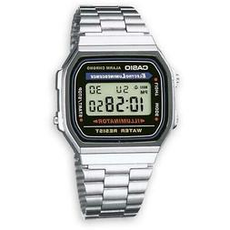 Unisex Mens Womens Watch CASIO A168WA VINTAGE Classic Steel