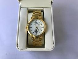 Us Polo Assn Women's Stainless steel Gold Watch  USC40292 Co
